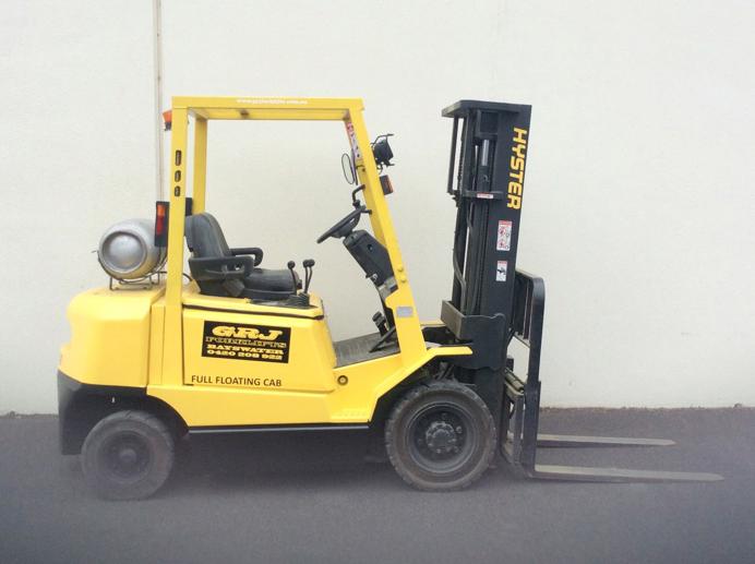 Four Way Side Loader Forklift Mitsubishi Rbm2025k Series: Hyster DX 2.5 Tonne Used Forklift