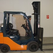 Toyota used forklift 8series 18 melbourne full