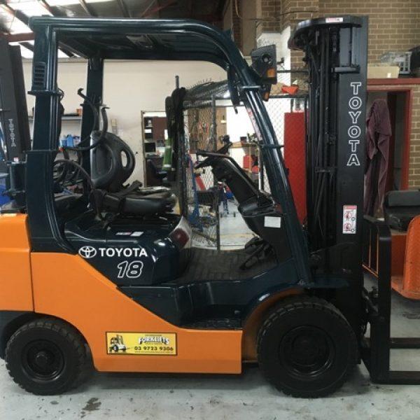 Toyota Used Forklift 1 8 tonne 438FG18