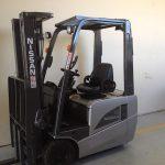 Grey Nissan Forklift