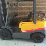 Secondhand forklift