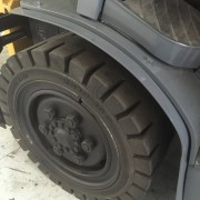 Used forklift wheel
