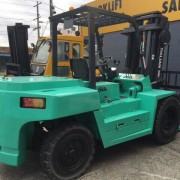 Turquoise forklift sale