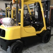 yellow forklift