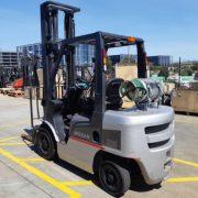 Grey Forklift